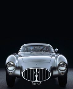 1954 Maserati A6 GCS/53 Berlinetta, via Chris Dangtran