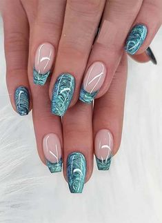 Visit here to see absolutely amazing shapes of colorful nail designs to create nowadays for more elegant hands Ladies who are recently searching for amazing nail art designs they are advised to see here for latest trends of nail arts and images to o - # Colorful Nail Designs, Beautiful Nail Designs, Beautiful Nail Art, Acrylic Nail Designs, Nail Art Designs, Elegant Nail Art, Pedicure Designs, Unique Nail Designs, Turquoise Nail Designs