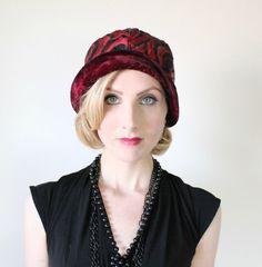 Vintage Black & Red Fashion   #vteam   #vogueteam by Mary Jane on Etsy