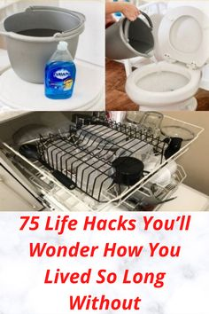75 Life Hacks You'll Wonder How You Lived So Long Without Amazing Life Hacks, Simple Life Hacks, Useful Life Hacks, Amazing Ideas, Diy Crafts For Home Decor, Fun Crafts To Do, Hacks Diy, Cleaning Hacks, Cleaning Recipes