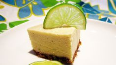 (Almost Raw) Vegan Key Lime Cheesecake might give this a try!