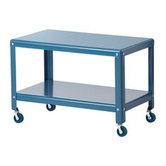 IKEA PS 2012 コーヒーテーブル IKEA キャスター付きなので、移動が簡単です 雑誌などを収納できる棚が付いているので、テーブルの上がすっきりかたづきます