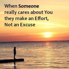 So true. Real friends put in effort, they don't make an excuse and run.