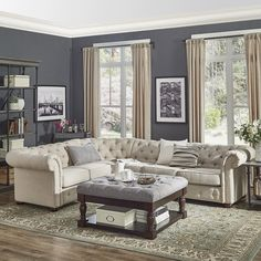 Tips And Advice For Designing Your Home's Interior – Shabby Chic Home Interiors Formal Living Rooms, Living Room Modern, Home Living Room, Living Room Furniture, Living Room Decor, House Furniture, Furniture Ideas, Furniture Removal, Furniture Design