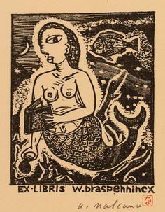 Akihisa Nakano, Art-exlibris.net
