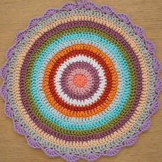weekly crochet mandala