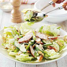 Caesar salade au poulet fumé