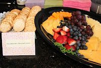 Three blind mice cheese and crackers and Mary Mary quite contrary garden veggie tray