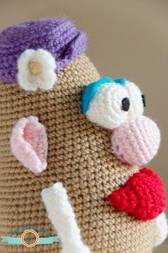 Mrs. Potato Head Amigurumi  Crochet