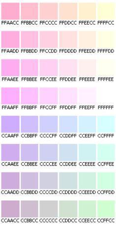 1000 Id Es Sur Le Th Me Palettes De Couleurs Pastel Sur