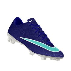 NIKEiD. Custom Nike Mercurial Veloce II iD Soccer Cleat. I need these in my life