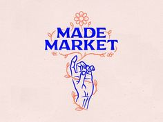 Made Market Summer Illustration designed by Harold Apples. Connect with them on Dribbble; the global community for designers and creative professionals. Identity Design, Visual Identity, Corporate Identity, Logo Mode, Logo Anime, Logo Abstrait, Logo Monogramme, Wordmark, Type Logo