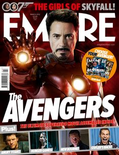 empire magazine front cover | March 2012 Empire Magazine The Avengers Iron Man Cover Plus The Hunger ...