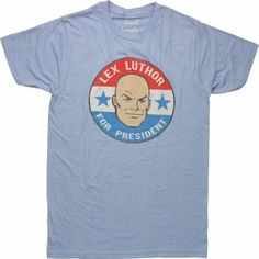 Lex Luthor President Circle T-Shirt