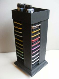The Craft Shed: Distress Ink pad rack, photos and details how to make this great stand included