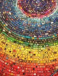 Rainbow-cars