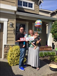 JUST SOLD! These happy sellers are moving out of state and starting a new adventure.