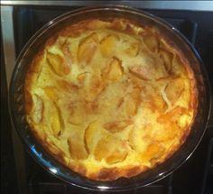 Portuguese Peach Tart (Tarte de Pessego) - Easy Portuguese Recipes