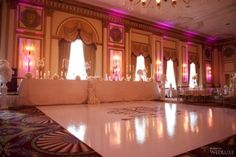 Dance Floor | This #wedding at the Fairmont Hotel Vancouver exudes timeless, elegance | WedLuxe