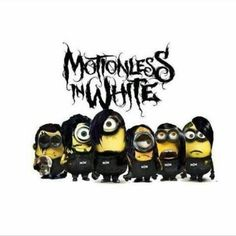 Motionless in white minions