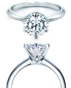 The Tiffany Setting.  simply elegant. love the details