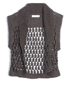 another cute crochet vest