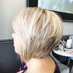 Low lights are a hilight's best friend. Add dimension and depth to the hair leaving you with flawless hair. #ormondbeach #ormondbeachhair #wellahair #behindthechair #imallaboutdahair #blonde #bob #ideologiesalon #oribe #pixiecut
