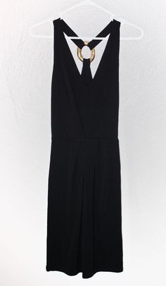 395 JOSIE NATORI JERSEY LITTLE BLACK DRESS PARTY COCKTAIL WOMENS SIZE  SMALL NEW  JosieNatori   7e9f502c0