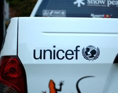#UnicefDecal sticker Detail Korea Car Decals.  ★ SIZE  : Width 25 cm (Width 9.84 inch) ★ Color : Black, White, Gray  Quantity : 1 ea made in korea Sticker Material : Vinyl sheet  Box package + vinyl package Free Shipping : provide the tracking number Car detail parts accessories Stylish design. Car exterior decoration products.  #Detail-Korea #DetailKorea #cardecal