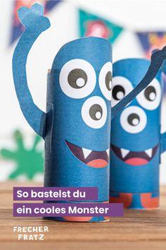 Super knuffige Deko Monster bastelst ganz einfach mit unserer Schritt-für-Schritt-Anleitung. Gehe dazu auf unseren Blog und hole dir coole und witzige Ideen für die perfekte Partydeko für den Kindergeburtstag mit Monster Motto. Schau dir unsere super leichte Anleitung an und im Handumdrehen bastelst du mit Kindern diese tollen Monster. Monster Party, Motto, Super, Blog, Diy, Kid Birthdays, Homemade, Tutorials, Creative