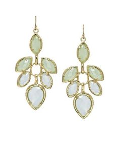 Jeanine Dangle Earrings in Aster