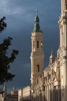 Zaragoza, Spain. Monumentos. Basílica de Nuestra Señora del Pilar