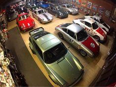 Magnus Walker garage