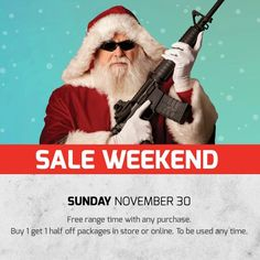 OUR SALE IS STILL ON!!!!  Today you will receive a FREE Range Time pass with any purchase, as well as 'buy-1-get-1-half-off' on ALL Shooting Experiences in store and online. Shooting Experiences can be redeemed any time, so stock up now and come in any day!  It's also the last day of our5.11 Tactical discounts and 10% off ammo and accessories with the purchase of a firearm!  #BlackFriday #BlackFridaySale #GunGarage #GunRange #ShootingRange #LasVegas #Vegas