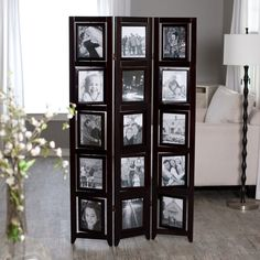 Photo Room Divider