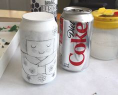 LOVE this idea! Have the kids turn a soda can into their favorite anime or cartoon character.