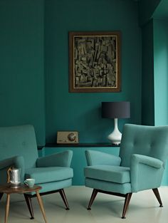 We get excited about mixing colors just like the next person — but sometimes, the perfect thing for a particular room is just one single hue. All of these rooms are dominated by a single color, sometimes in varying shades, which results in a look that's rich, textured, and even luxurious.