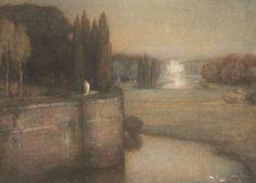 Jan Bogaerts (Dutch, 1878-1962) The rampart of Den Bosch, 1925