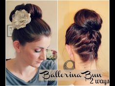 How to: Ballerina Bun | Ma Nouvelle ModeMa Nouvelle Mode