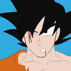 Goku by #Wolfthekid
