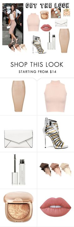 """Get the look#2"" by akidesekerii on Polyvore featuring moda, WearAll, LULUS, Giuseppe Zanotti, Givenchy, Urban Decay, Lime Crime ve Avon"