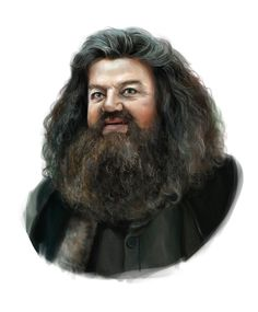 Rubeus Hagrid by AnnikeAndrews on DeviantArt Harry Potter Artwork, Harry Potter Films, Harry Potter Drawings, Harry Potter Love, Harry Potter Fandom, Harry Potter Universal, Harry Potter World, Voldemort, Hogwarts