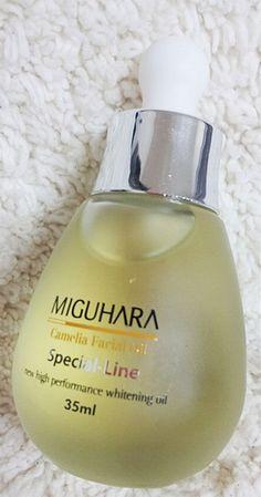 MIGUHARA CAMELLIA FACIAL OIL ampule 35ml The ampoules that moisturizes the skin #MIGUHARA