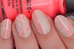 17 sugestões de nail art geométrica para você se inspirar