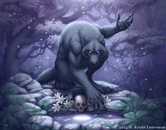 Want to discover art related to werewolf? Check out inspiring examples of werewolf artwork on DeviantArt, and get inspired by our community of talented artists. Fantasy Creatures, Mythical Creatures, Wolf Hybrid, Werewolf Art, Werewolf Drawings, She Wolf, Anthro Furry, Creature Design, Fantasy Art