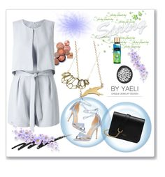 """""""BY YAELI #11"""" by nizaba-haskic ❤ liked on Polyvore featuring Dorothy Perkins, Miss Selfridge, Stila and Mulberry"""