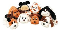 Pound Puppies: With my addiction to Barbie and My Little Pony, my parents knew better than to get me a second puppy. Drats.
