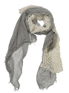 CUTULICULT grey & white lampedusa scarf Grey And White, Branding Design, Luxury Fashion, Elegant, Scarfs, Belts, How To Wear, Shopping, Women