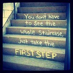 Solo da el primer paso!