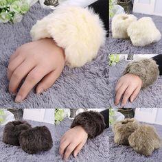UK/_ CN/_ LADY WINTER SEQUIN CAT EARS FLUFFY EARMUFFS EARFLAP EARCAP EAR WARMER CO
